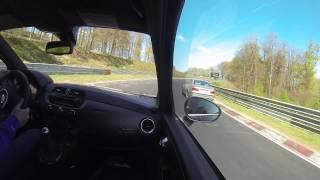 nurburgring 595 abarth competizione s 106 rallye crazy