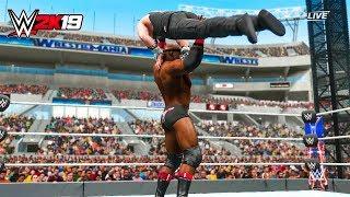 WWE 2K19 - Bobby Lashley vs Elias Full Match - PC Gameplay