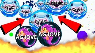 Agar.io Easy Take Over Wins/Fails Best Agario Mobile Gameplay