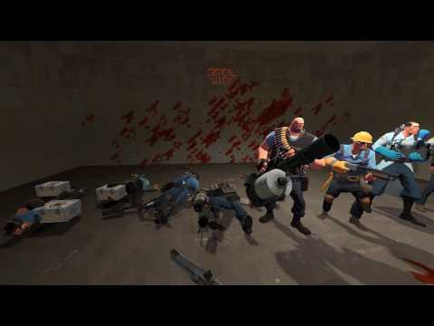 Team Fortress 2 - Headshot Death Animations