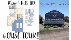 House Tour// Minot AFB, ND