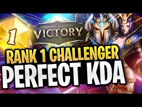 Why bobqinXD is The RANK 1 Challenger Leblanc - PERFECT KDA - LoL Highlights and Funny Moments