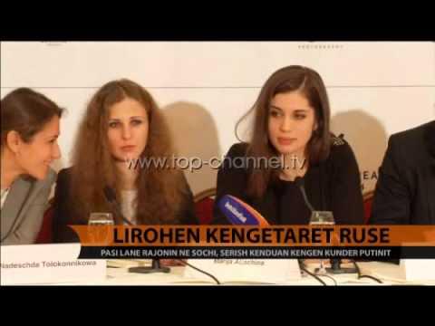 Lirohen këngëtaret ruse - Top Channel Albania - News - Lajme