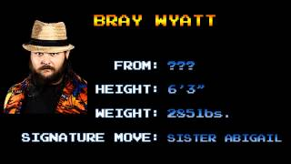 Arcade Wrestling Themes - Bray Wyatt - Live In Fear (CPS1)