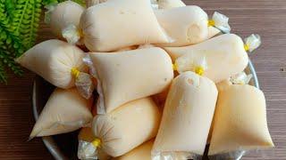 KEM CHANH DÂY - Cách làm kem Chanh Dây túi mịn dẻo không tách nước - Tú Lê Miền Tây