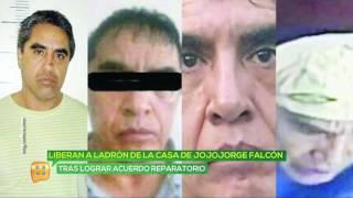 Liberan a ladrón de la casa de JoJoJorge Falcón