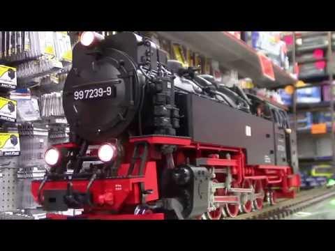 LGB #26814 German Steam Locomotive Class 99.23 (DCC Sound Decoder)