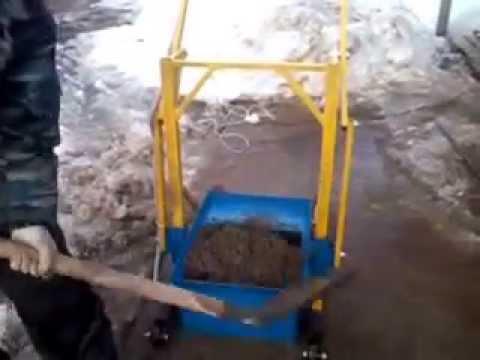 🇰🇿 🔝 💯Станок для производства пескоблока своими руками - YouTube