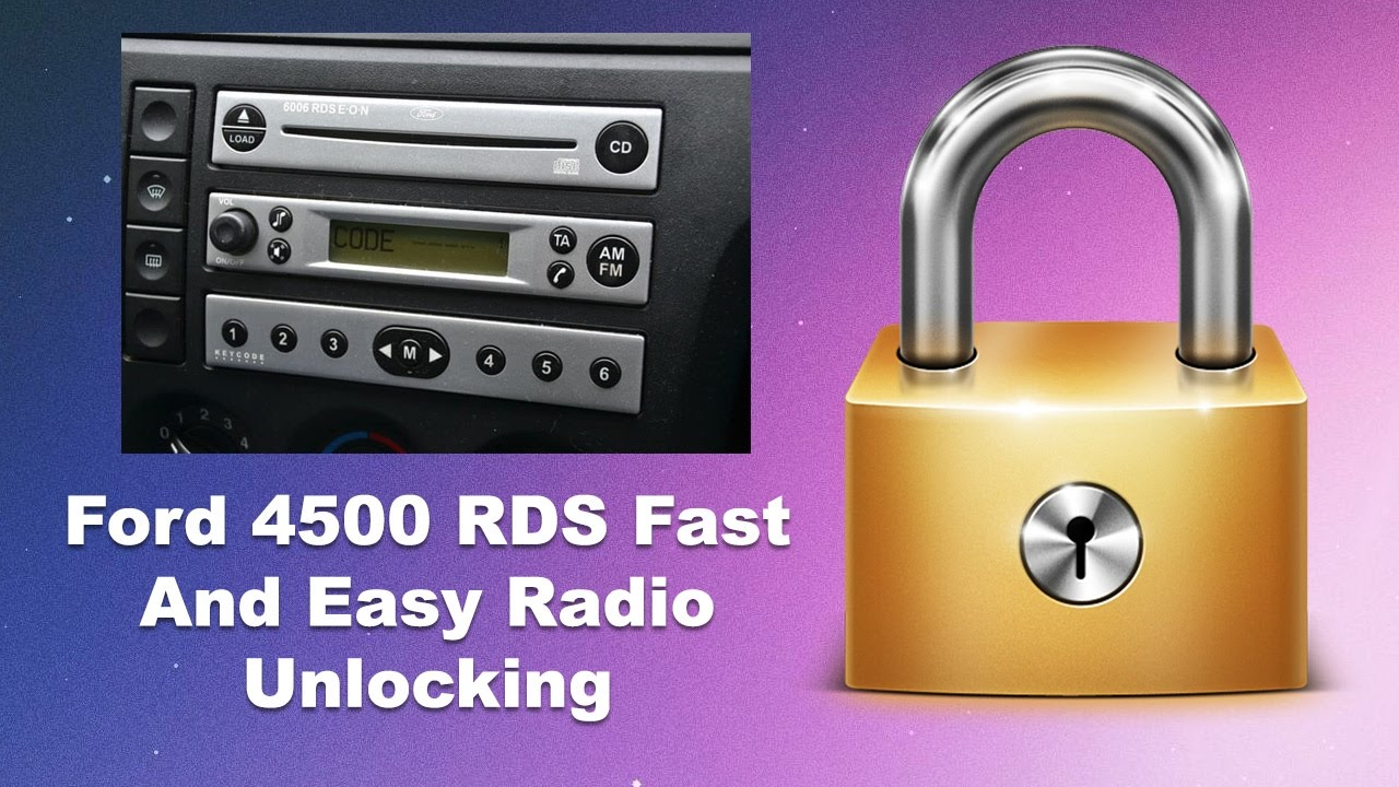 Ford 5000 6000 4500 Rds Eon How To Reset Locked13 Enter Code Unlocked By Radio Code