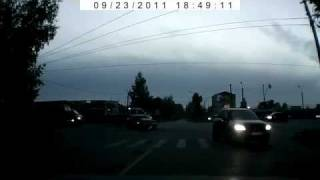 NEW scary car accident in Russia!Volkswagen Tiguan crash!ДТП авари