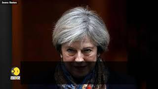 Baixar UK PM May says 'no Brexit' is alternative to draft deal