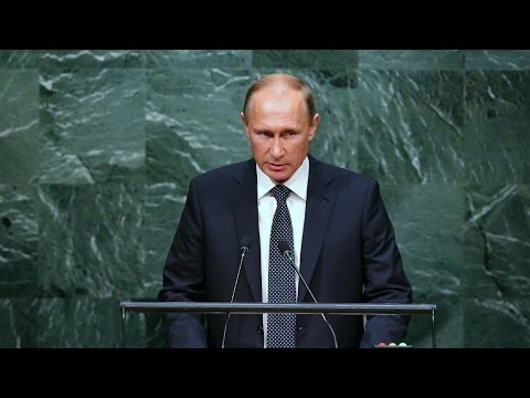 PUTIN CONFRONTS OBAMA AT UN – DO YOU REALIZE WHAT YOU HAVE DONE?