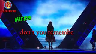 Virza - don't you remember | the voice Indonesia | wong suroboyo ayu sak apa-apane