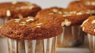 Blueberry Bran Muffins Recipe Demonstration - Joyofbaking.com