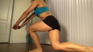 Best Butt Exercises For Women: Curtsy Lunge