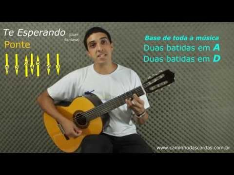 TE ESPERANDO Luan Santana - VIOLÃO - LIÇÃO 2 de 3 - CAMINHO DAS CORDAS