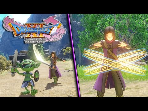 Save BATTLE MODE REVEALED! Dragon Quest XI: In Search Of Departed Time - LAST CHARACTERS REVEALED! Snapshots
