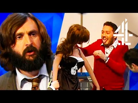 Jon Richardson Is Totally Weirded Out By Joe Wilkinson's Sex Doll  8 Out Of 10 Cats Does Countdown