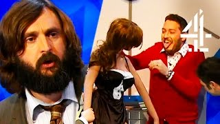 Jon Richardson Is Totally Weirded Out By Joe Wilkinson's Sex Doll | 8 Out Of 10 Cats Does Countdown
