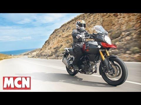 NEW 2014 V-Strom 1000 Suzuki's Back! | First Ride | Motorcyclenews.com