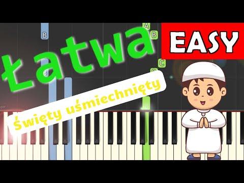 🎹 Święty uśmiechnięty (Arka Noego) - Piano Tutorial (łatwa wersja) 🎹