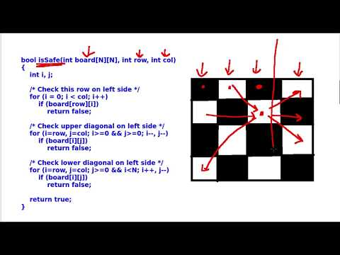 Tutorial 10 : N - Queen Problem's Solution in Hindi ( PART - 3 )