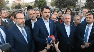 Çevre ve Şehircilik Bakanı Murat Kurum Çorlu'ya Müjdeyi Verdi
