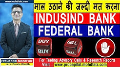 INDUSIND BANK  FEDERAL BANK  BUY  SELL  HOLD | Bank Stock Analysis