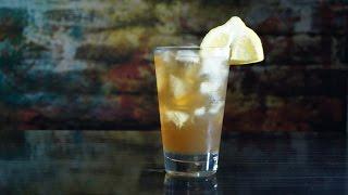 Коктейль Джин персиковый чай