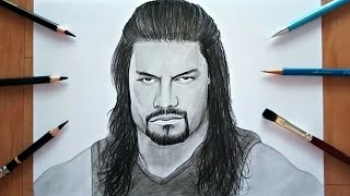 WWE Drawing |  Roman Reigns
