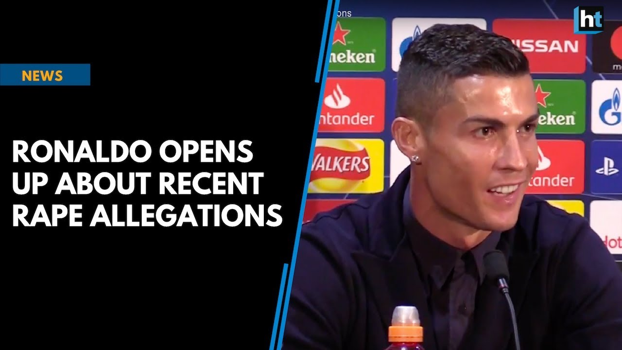 Ronaldo opens up about recent rape allegations