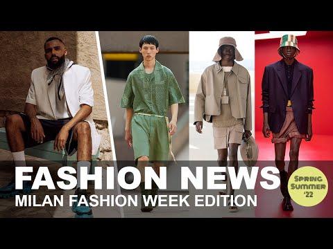 Prada, Fendi, Zegna, Etro... Best of Milan Fashion Week Men's SS22