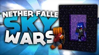 Nether Portal FALLE! - Minecraft Sky Wars! | DieBuddiesZocken