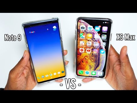 iPhone XS MAX vs Galaxy Note 9 part 2 Which has better User Experience