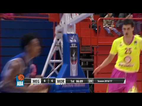 Powerful slam in transition by Rade Zagorac! (Mega Leks - Mornar, 19.11.2016)