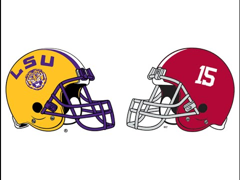 2015 #2 LSU at #4 Alabama (Highlights)