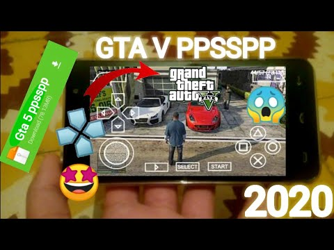 GTA 5 PPSSPP Download ANDROID