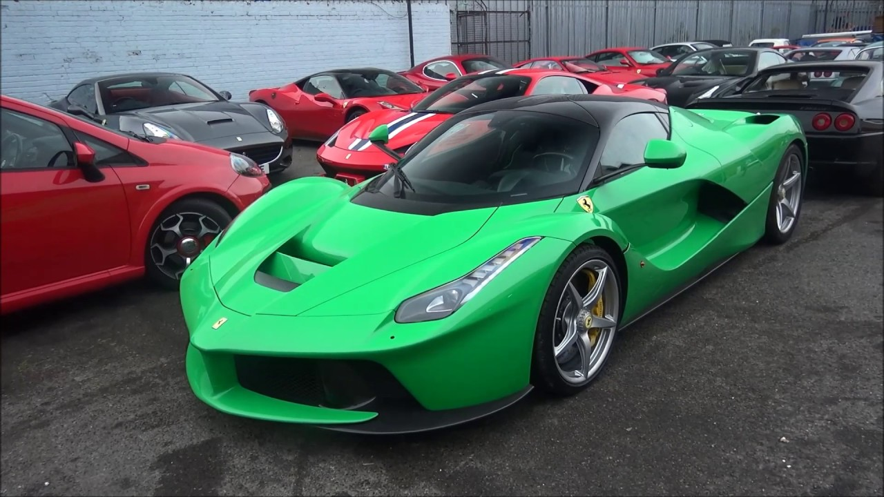 EXCLUSIVE: Jay Kay's LaFerrari driving in SECRET Fully Electric Mode!!