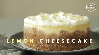 레몬 치즈케이크 만들기 : Lemon cheesecake Recipe - Cooking tree 쿠킹트리*Cooking ASMR