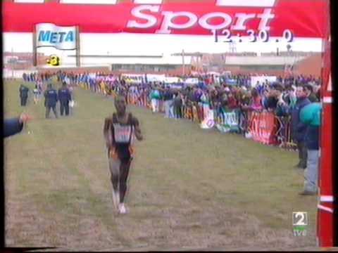 Atletismo :: Domingos Castro melhor europeu (4º) no cross internacional de Fuensalida em 1994