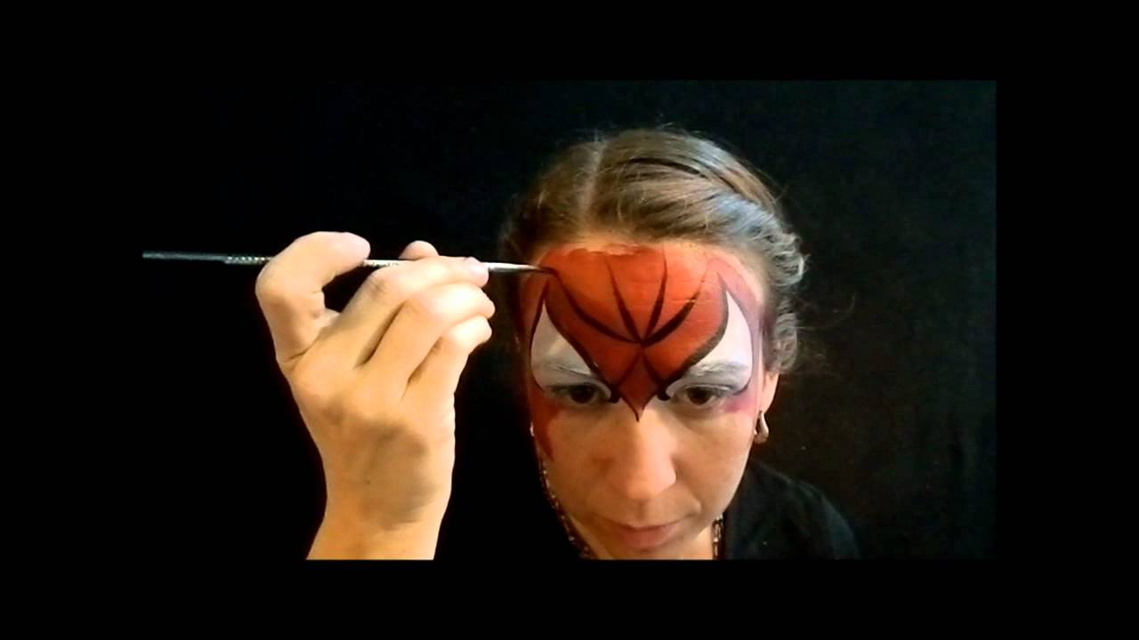 Large size of debonair beginners okidoki face painting plus tutorial for fast and easy spiderman face paint baditri Images