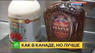 НТВ: Российский кленовый сироп