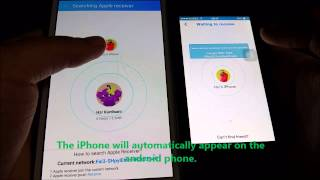 How to send/receive any file between iOS and Android (no internet connection needed)(In this video. I am going to show you how to transfer any file from Android to iOS devices and vice versa without any internet connection or bluetooth. It is done ..., 2015-01-06T19:04:34.000Z)