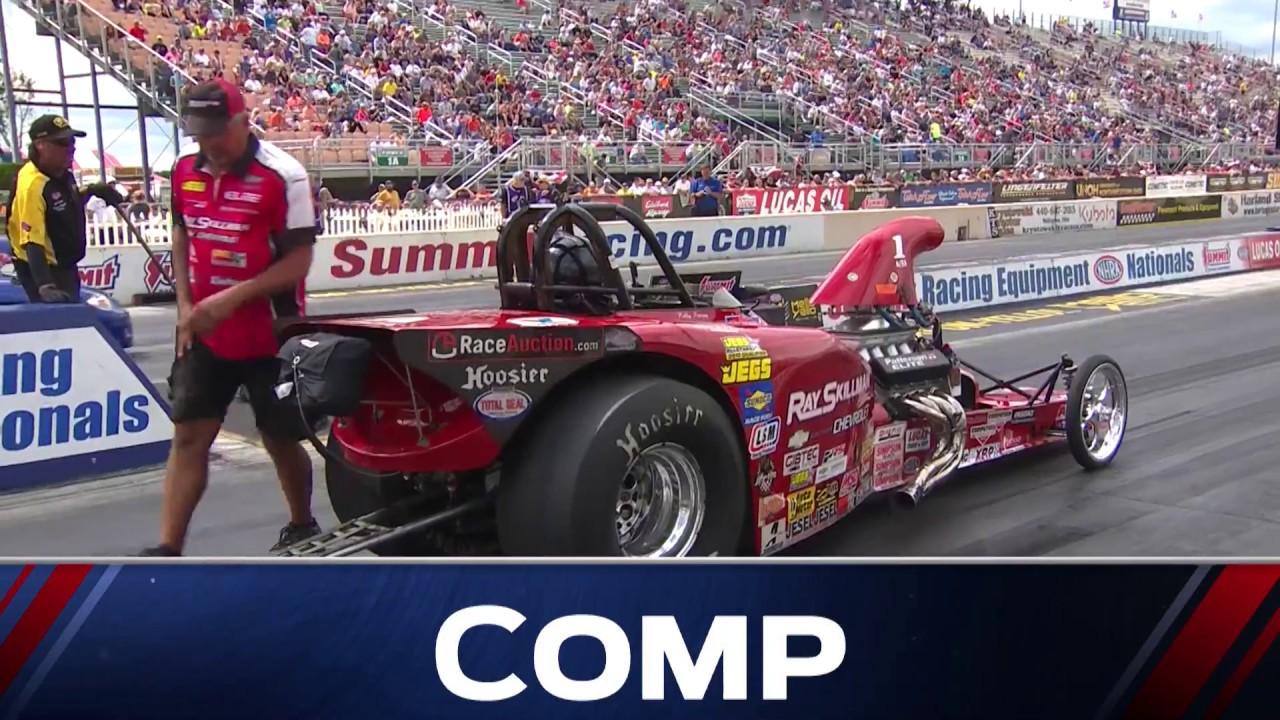 2018 Summit Racing Equipment Nationals Comp Eliminator winner David Rampy
