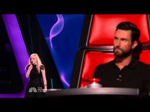 Holly Henry - The Scientist - The Voice USA 2013