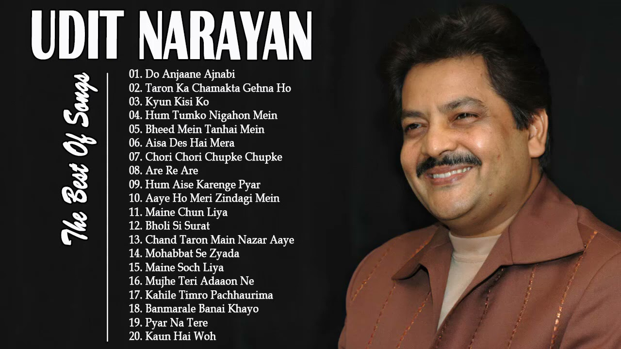 UDIT Narayan Best Songs  Evergreen Romantic Songs Of Udit Narayan  Hindi Collection 2021