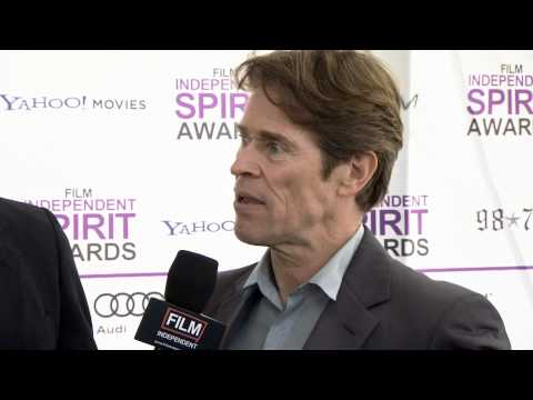 2012 Spirit Awards -- Willem Dafoe
