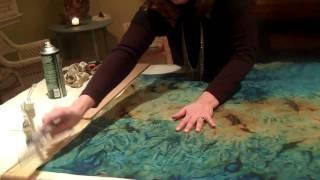 Nancy's craft No sew roller shade