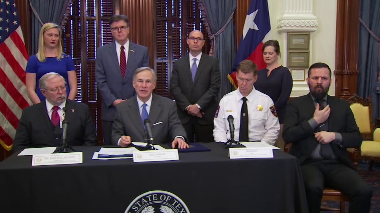 Gov. Greg Abbott issues directives to expand Texas hospital ...
