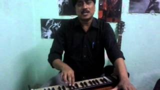 Sajan Mera us paar hai on Harmonium.